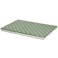 Midwest QuietTime Defender Series Reversible Crate Pad Green, X-Large, Green / White