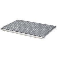 Midwest QuietTime Defender Series Reversible Crate Pad Grey, X-Large, Gray / White