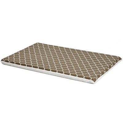 Midwest QuietTime Defender Series Reversible Crate Pad Brown, XX-Large, Brown / White