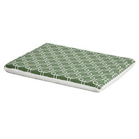 Midwest QuietTime Defender Series Reversible Crate Pad Green, Medium, Green / White
