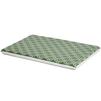 Midwest QuietTime Defender Series Reversible Crate Pad Green, Large, Green / White