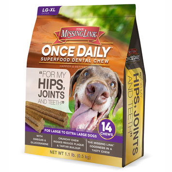 The Missing Link Once Daily Hip Joint for Large Dogs (14 count)