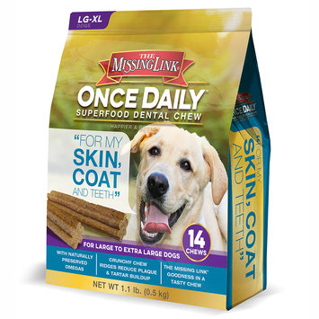The Missing Link Once Daily Skin Coat for Large Dogs (14 count)