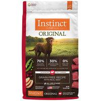 Natures Variety Nature's Variety Instinct Original Grain Free Beef Dry Dog Food, 11 lbs.