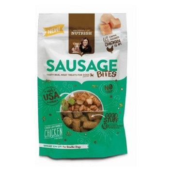 Rachael Ray Nutrish Sausage Bites Dog Treats Oven- Browned Chicken Recipe 12oz