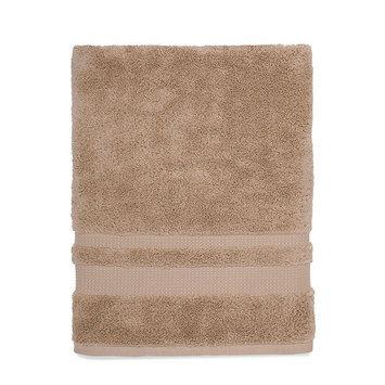Martex Supima Luxe Bath Towel, Beig/Green (Beig/Khaki)