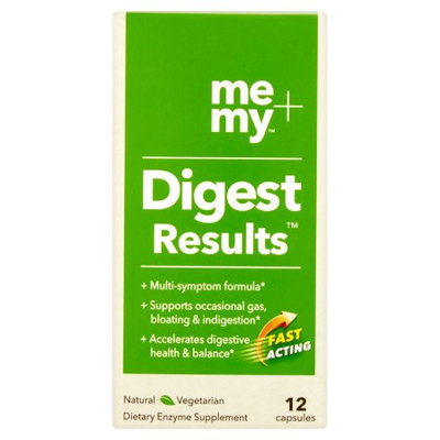 Me+my Me + My Digest Results Dietary Enzyme Supplement Packs, 12 count