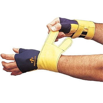 Impacto 70520010031 Left Hand Wrist Protector Blue & Yellow - Medium