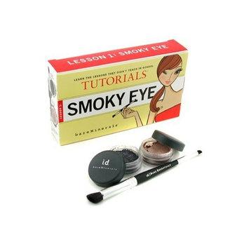 Smoky Eye Tutorials Lesson 1: Eyeshadow 0.57g + Glimmer 0.57g + Double-Ended Smoky Eye Brush - Bare Escentuals - MakeUp Set - Smoky Eye Tutorials Lesson 1 - 3pcs