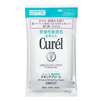 Curel JAPAN Kao Curel   Face Care   Skin Care Refreshing Wipes 10 Sheets