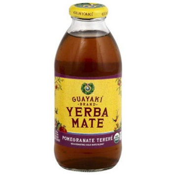 Guayaki Sparkling Yerba Mate Cranberry Pomegranate Organic, 12 Fluid Ounce (Pack of 12)