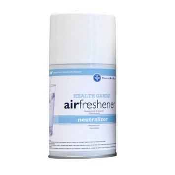 Hospeco Health Gards 07913 Neutralizer Metered Aerosol Air Freshener, 7 oz Can (Case of 12)