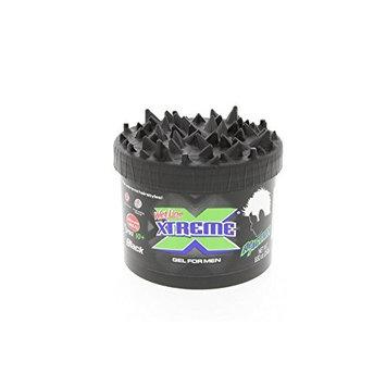 Xtreme Reaction Black Styling Gel 250g - Reacción Negro Gel de Peinado