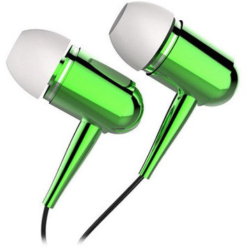 Tzumi Noise-isolating Earbuds-green