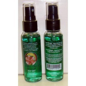 Simply Basic Melon Delight 2 Oz. Body Mist Spray Case Pack 72