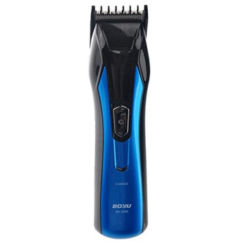 Pixnor BOSU BY-2005 Portable Cordless Rechargeable Electric Hair Beard Trimmer Clipper Set