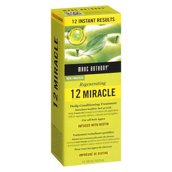 Marc Anthony True Professional 12 Second Miracle Conditioner Treatment 4.5 oz(pack of 3)
