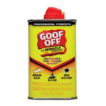 Goof Off FG650 The Miracle Remover, 4.5-Ounce