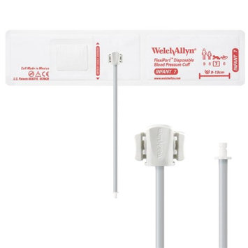 Welch Allyn WEL SOFT-07-1HP Flexiport Blood Pressure Cuff for Bayonet Connector Infant - Pack of 20