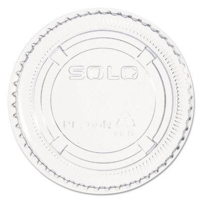 Dart Souffle Cup Lid, Plastic, 2 Oz, Case of 2500 PL2N