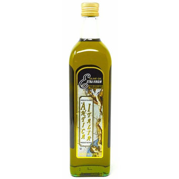 Antica Italia Italian Extra Virgin Olive Oil, 34 Fl Oz (1 Liter), Premium Gourmet Imported Product of Italy, Great for Bread Dipping