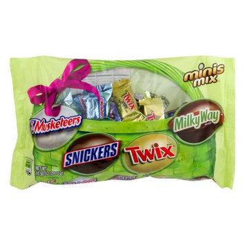M & M Mars Inc Mars Mixed Minis Chocolate Candy Easter Variety Bag 10.5oz