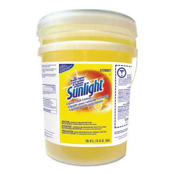 Sunlight Liquid Dish Detergent, Lemon Scent, 5 gal Pail (DRK5729837)