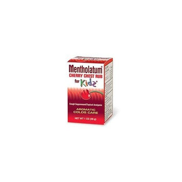 Mentholatum - ChildrenS Chest Rub For Kids, Cherry Scented 1 Oz