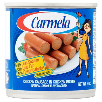 Century Packing Corporation Carmela Low Sodium Chicken Sausages