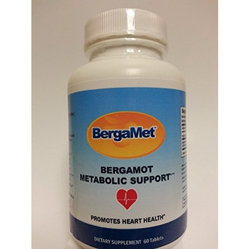 BergaMet Metabolic (Heart & Cholesterol) Support 60 tablets - Citrus Bergamot 550mg (38%) - THE WORLD'S MOST POWERFUL & PROVEN BERGAMOT PRODUCT - 60 Tablets LIMITED OFFER!