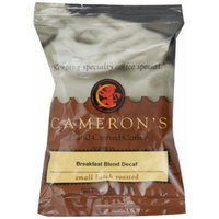 Cameron's Specialty Coffee, Decaf Breakfast Blend, 1.75 Ounce, Ground Coffee, Pack of 24