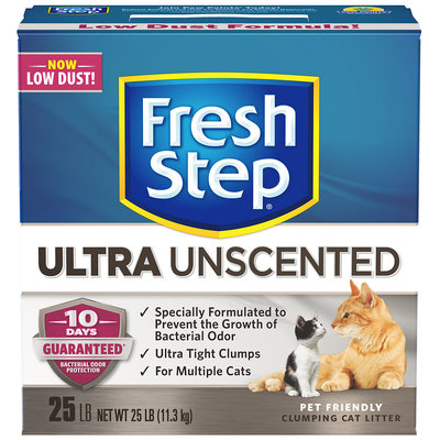 Fresh Step Extreme with Febreze Odor Control Scoopable Clumping Cat Litter