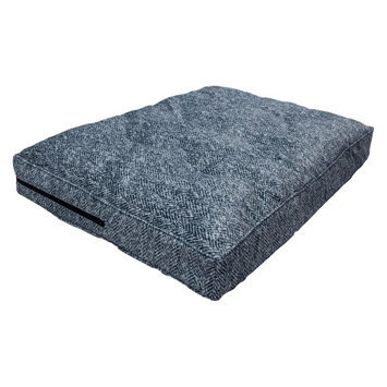 Snoozer Show Dog Collection Orthopedic Pillow Top Bed Tempest Indigo