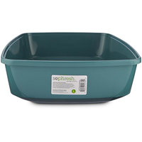 So Phresh Royal Teal Open Cat Litter Box, Large