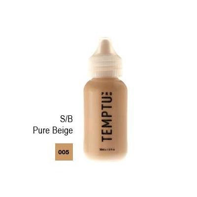 S/B 005 Pure Beige 4oz. Temptu S/B Foundation Bottle