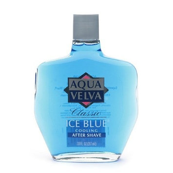 Aqua Velva Cooling After Shave, Classic Ice Blue 7 fl oz (207 ml) by Aqua Velva