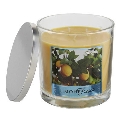 SONOMA Goods for Life™ Limone Fresco 14-oz. Candle Jar, Multicolor