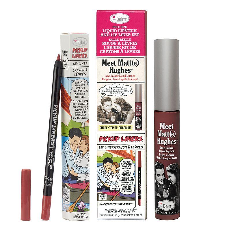 Thebalm the Balm Meet Matt(e) Hughes Liquid Lipstick & Lip Liner Set, Multicolor