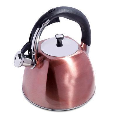 Mr. Coffee Belgrove 2.5-qt. Teakettle, Brown