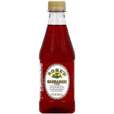 Rose's Grenadine Syrup, 12 fl oz