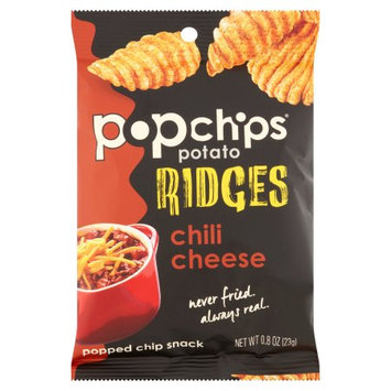 Popchips Inc Popchips, Chips Rdgs Chili Cheese, 0.8 Oz (Pack Of 24)