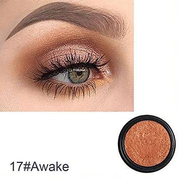 Single Color Glitter Shimmering Eyeshadow Eye Shadow Makeup Cosmetic Beauty Tool size 22g (Awake)