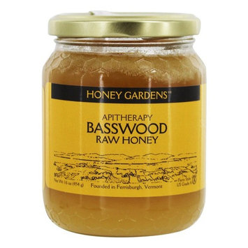 Apitherapy Raw Honey Basswood - 16 oz.