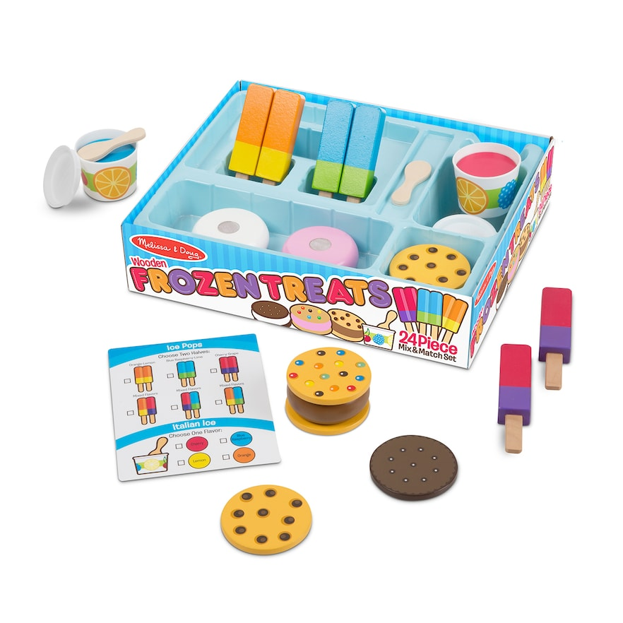 Melissa & Doug 24 Piece Frozen Treats Set