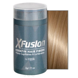 XFusion Keratin Hair Fibers - Medium Blonde (Blonde) 0.11 oz