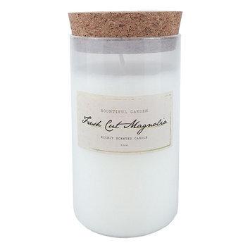 Hawkwood Fresh Cut Magnolia 13-oz. Candle Jar, White