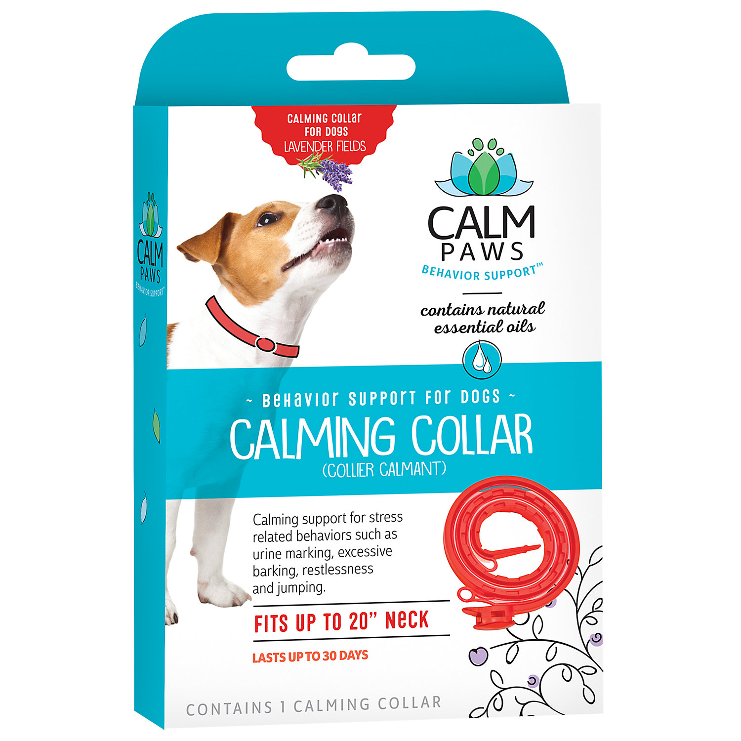 Calm Paws Calming Dog Collar, 21st Century