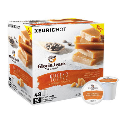 Keurig® K-Cup® Pod Gloria Jean's Butter Toffee Coffee - 48-pk, Multicolor