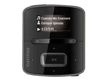 Philips GoGear SA3RGA04K 4GB Flash MP3 Player. Each