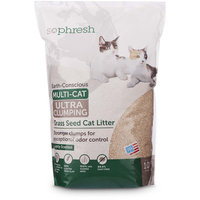 So Phresh Extreme Clumping Unscented Grass Seed Cat Litter, 10 lbs.